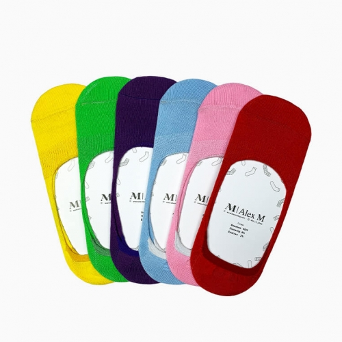 """Bright Day"" Collection (6 pairs) Women Socks"