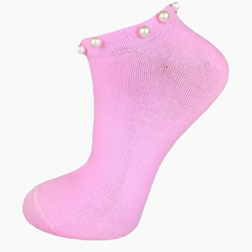 """Pearls"" Collection (5 pairs) Women Socks"